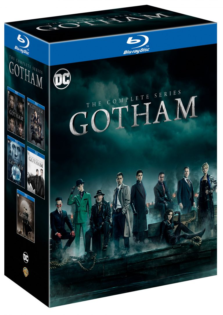 The Complete Gotham Saga Coming to DVD This Summer